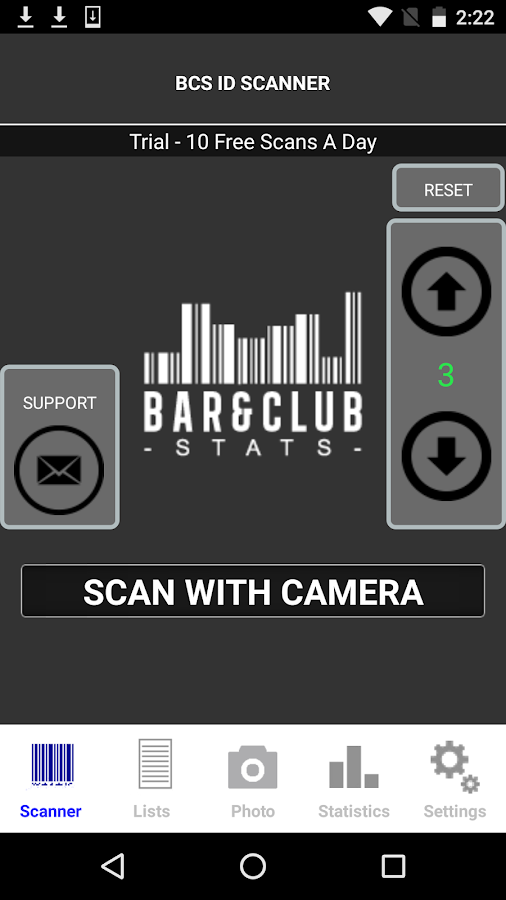 bar and club stats app review