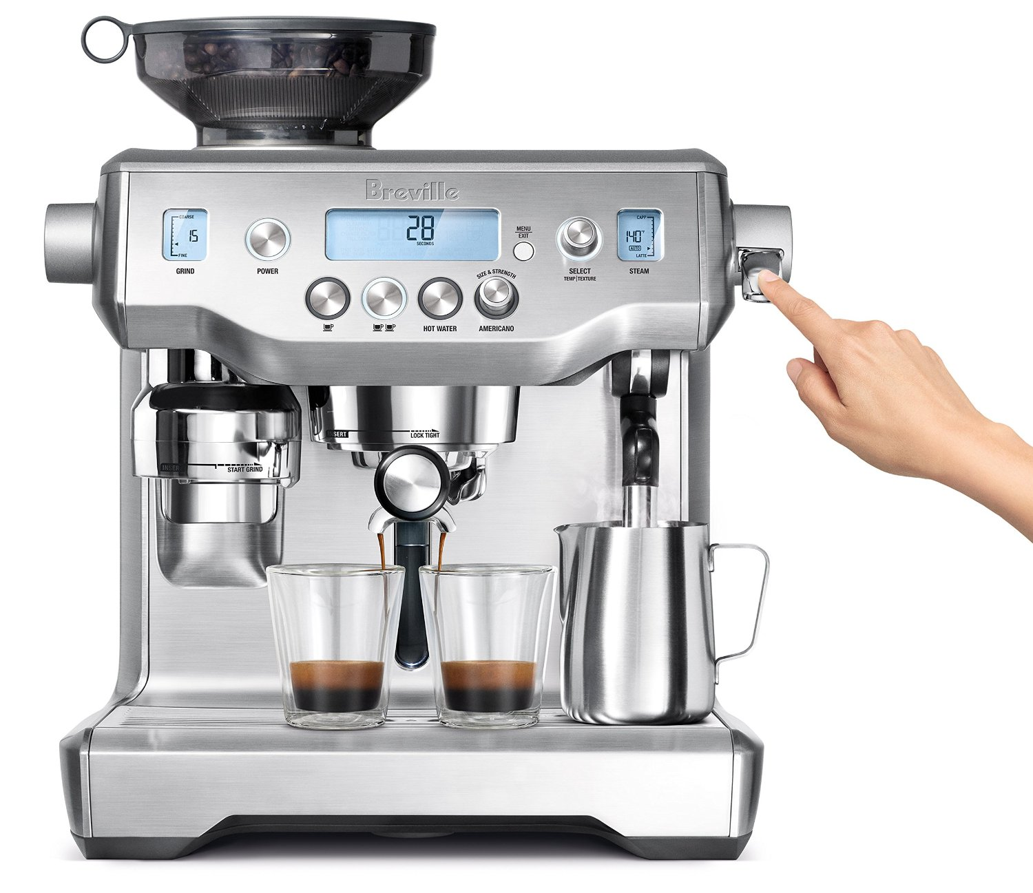 at home espresso machine reviews
