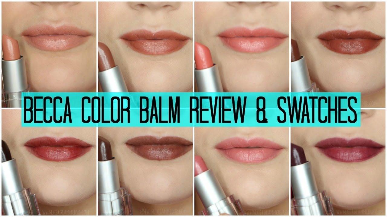 becca lush lip colour balm review