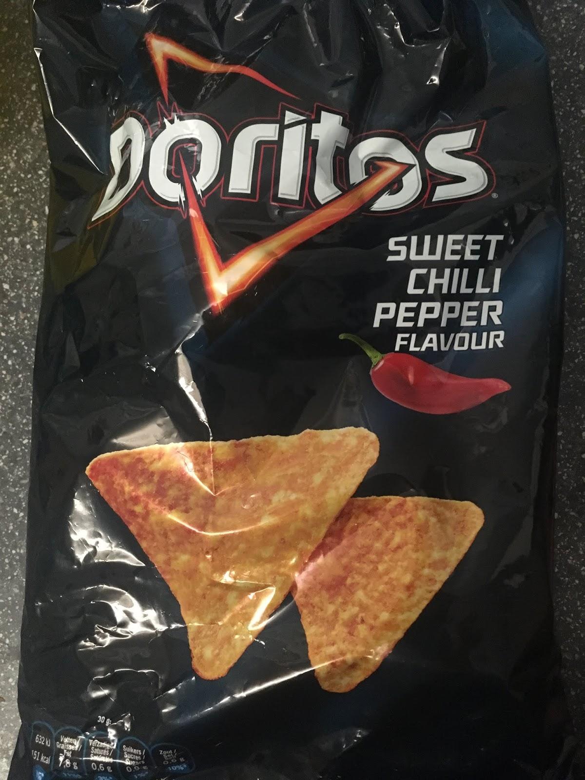 doritos sweet chili heat review
