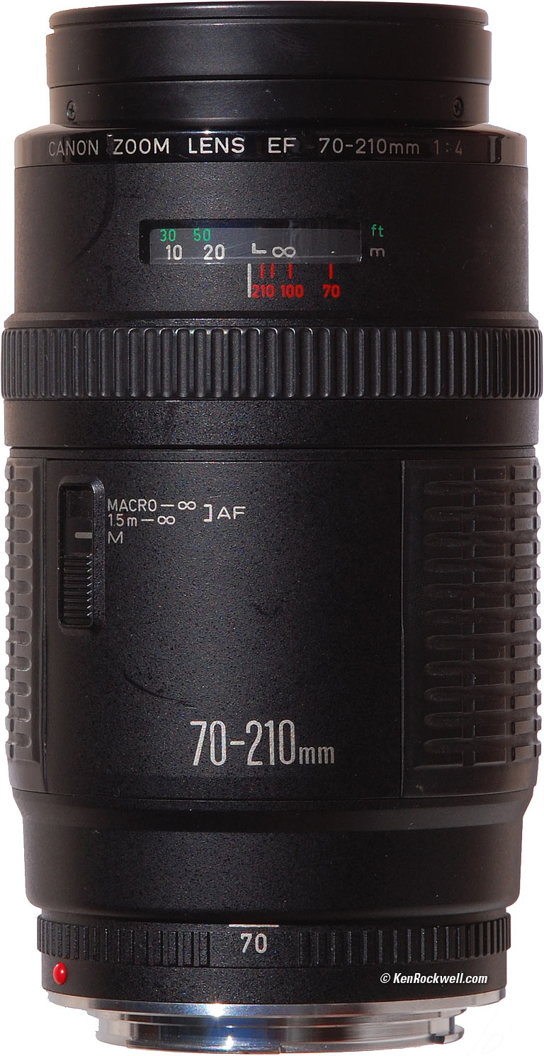 canon fd 70 210mm f 4 macro zoom lens review