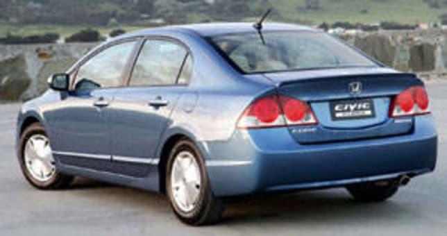 2006 honda civic hybrid review