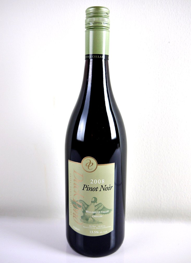 duck pond pinot noir 2014 review