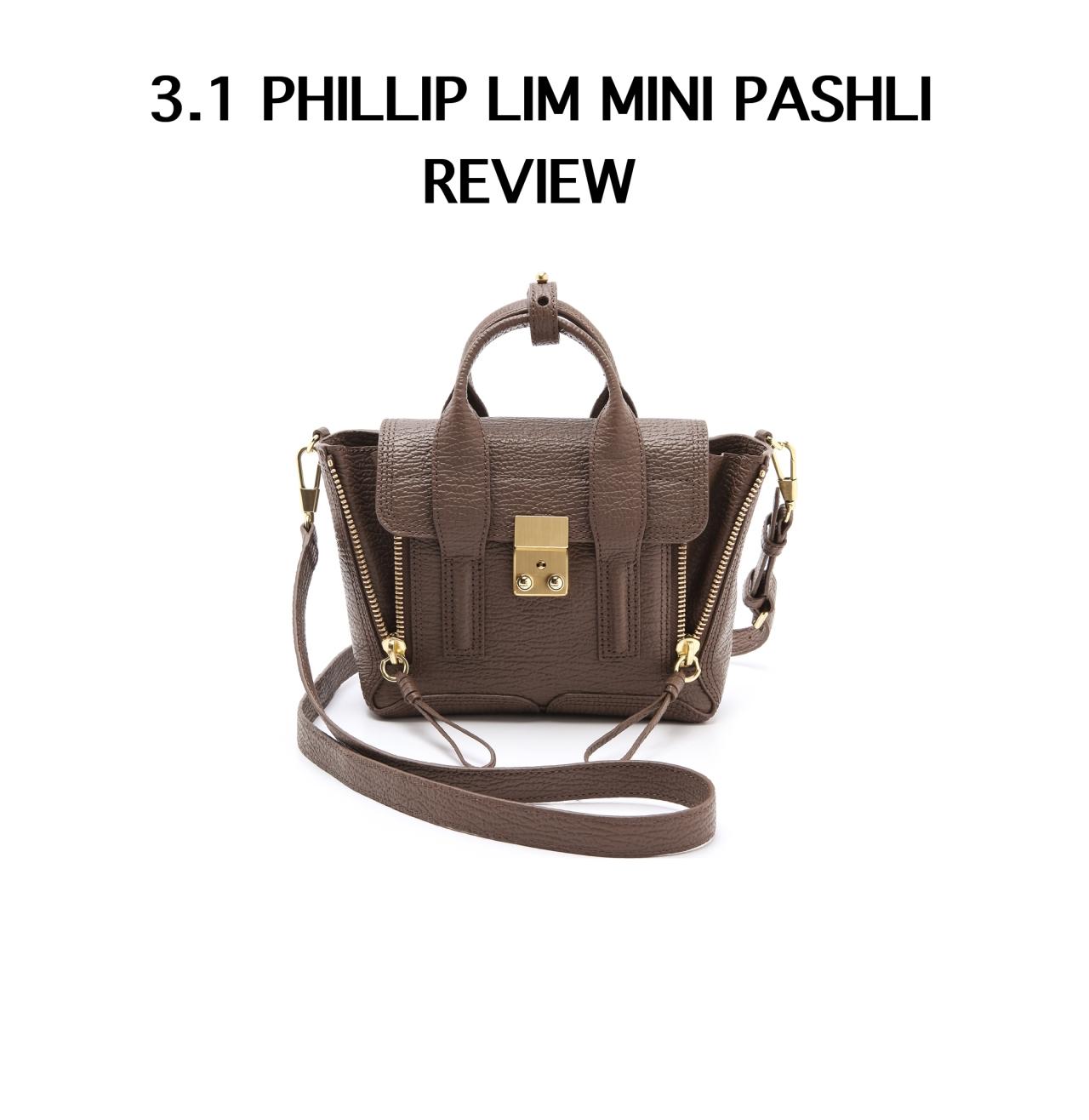 phillip lim mini pashli review