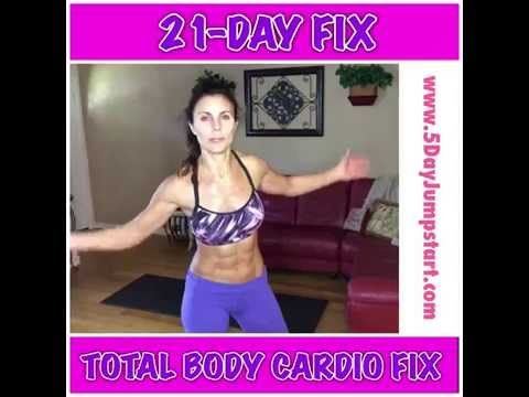 21 day fix total body cardio review