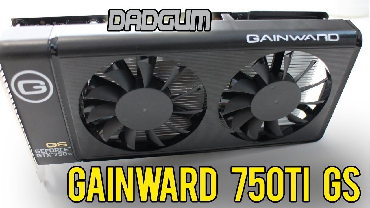 gainward gtx 750 ti review