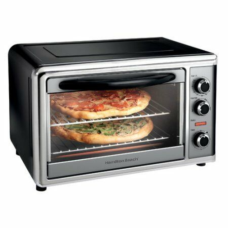 hamilton beach countertop oven with convection & rotisserie reviews