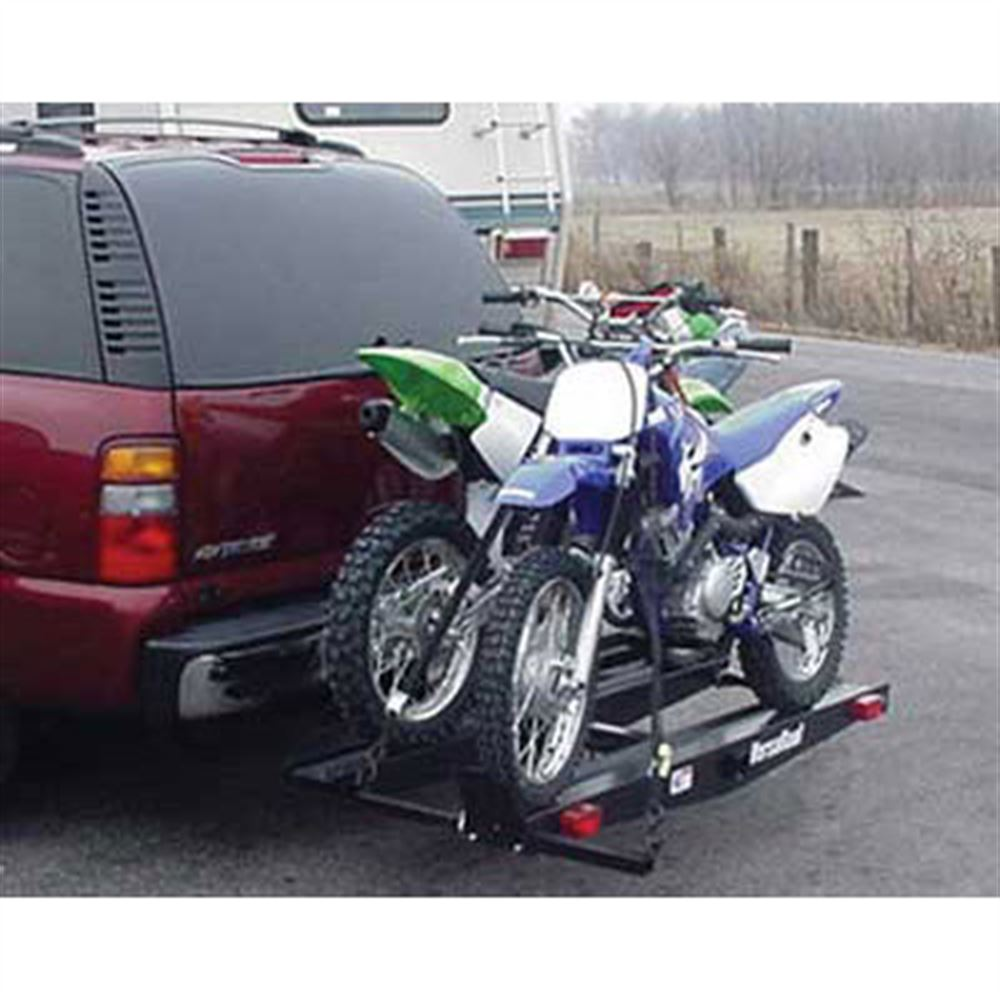 double motorcycle hitch carrier reviews