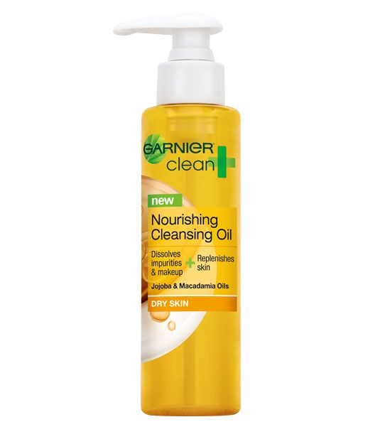 garnier nourishing cleansing oil review