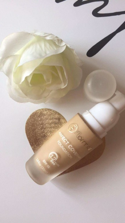 flormar perfect coverage foundation review