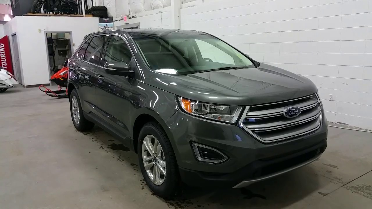 2017 ford edge review youtube