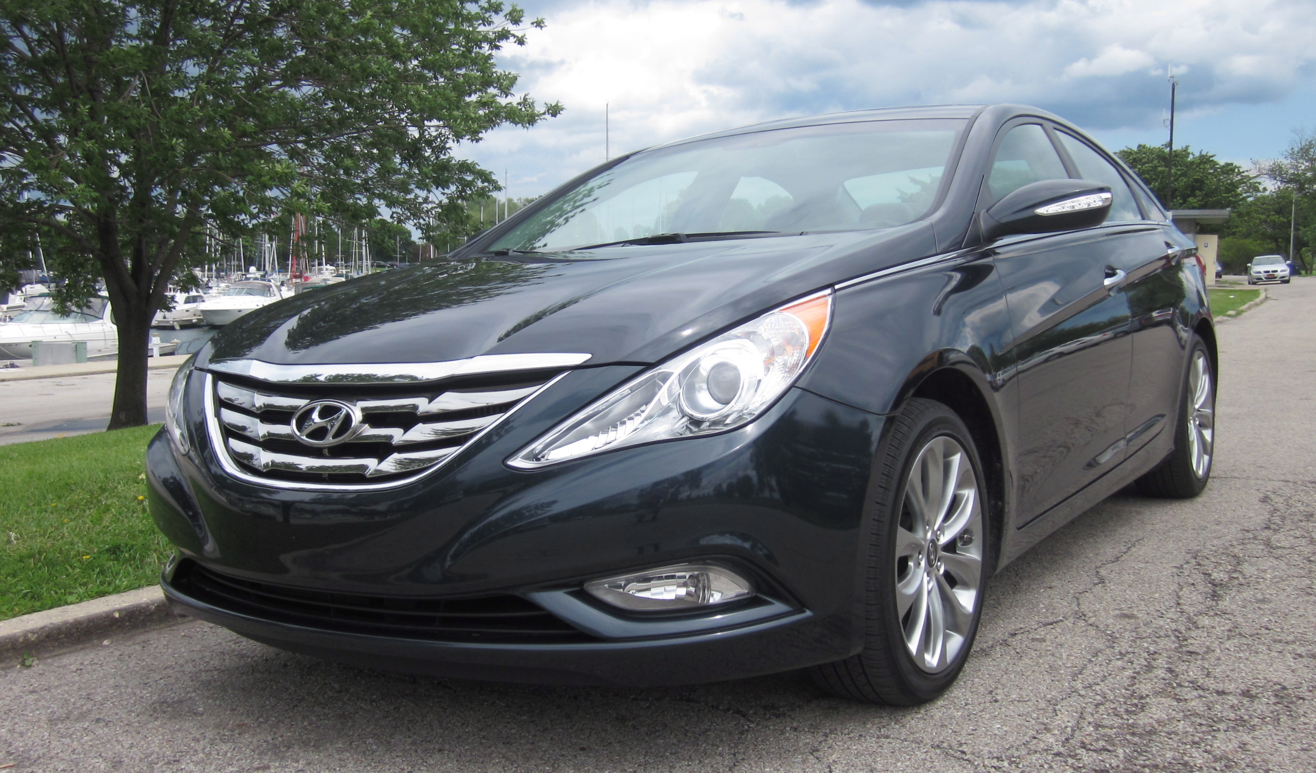 2011 sonata limited turbo review