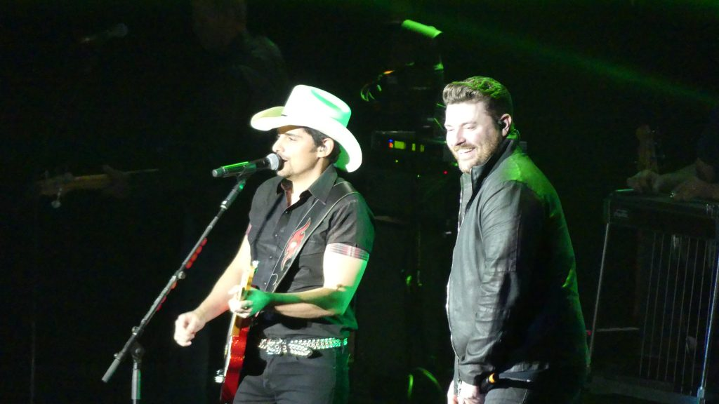 brad paisley concert review 2017