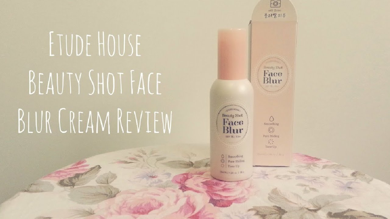 etude house face blur review