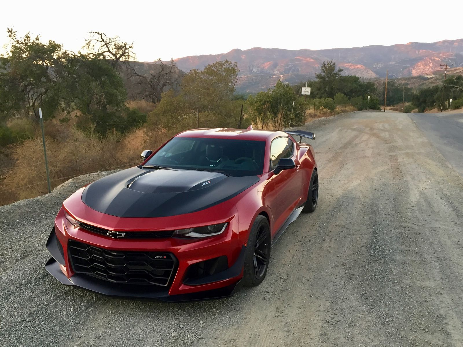 2018 camaro zl1 1le review