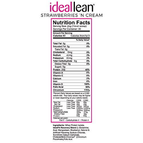 ideal lean protein shake reviews