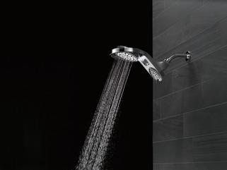 delta hydro rain shower head reviews