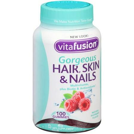 biotin hair skin and nails review