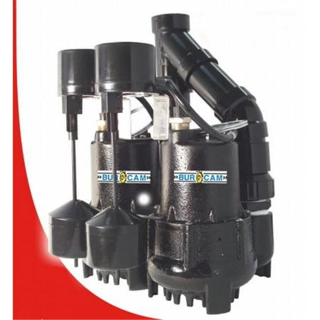 bur cam sump pump review