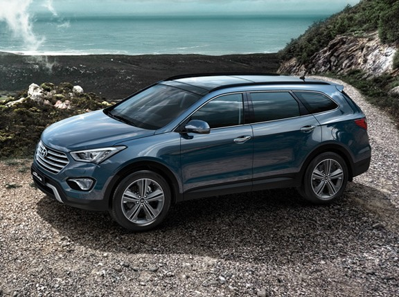 hyundai grand santa fe review
