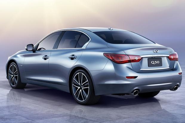 2014 infiniti q50 hybrid premium awd review