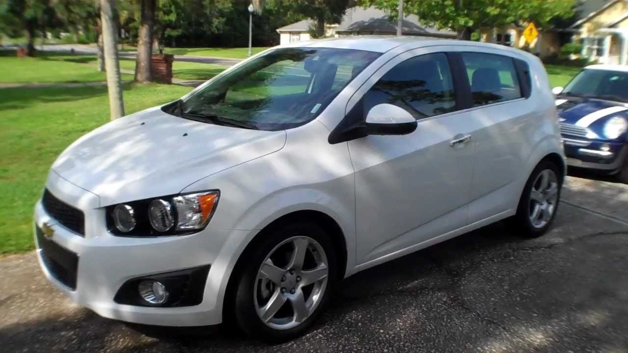 2013 chevy sonic ltz review
