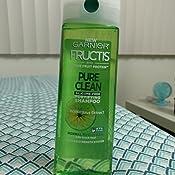 garnier fructis pure clean shampoo review