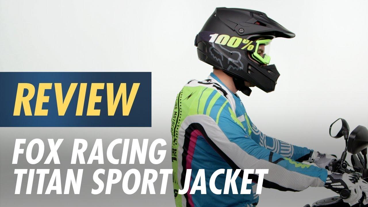fox titan sport jacket review