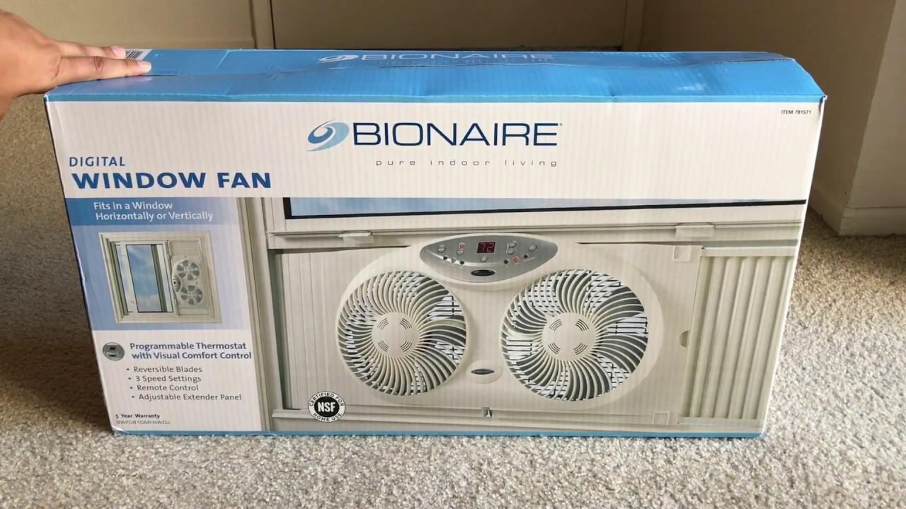 bionaire triple window fan review