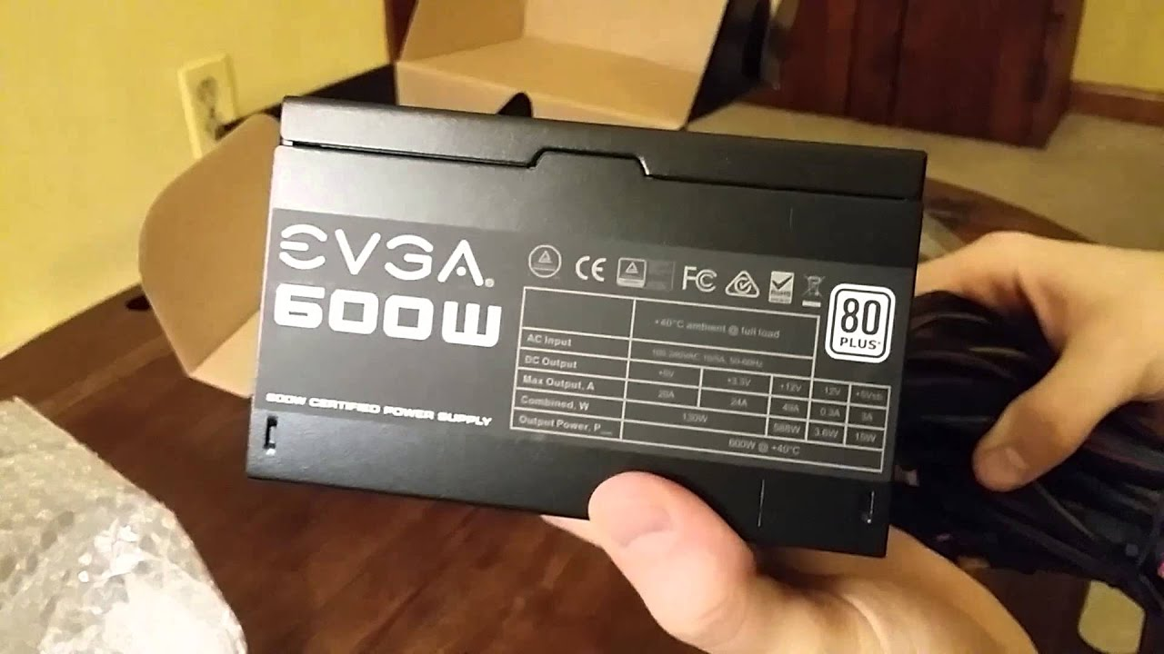 evga 600w power supply review