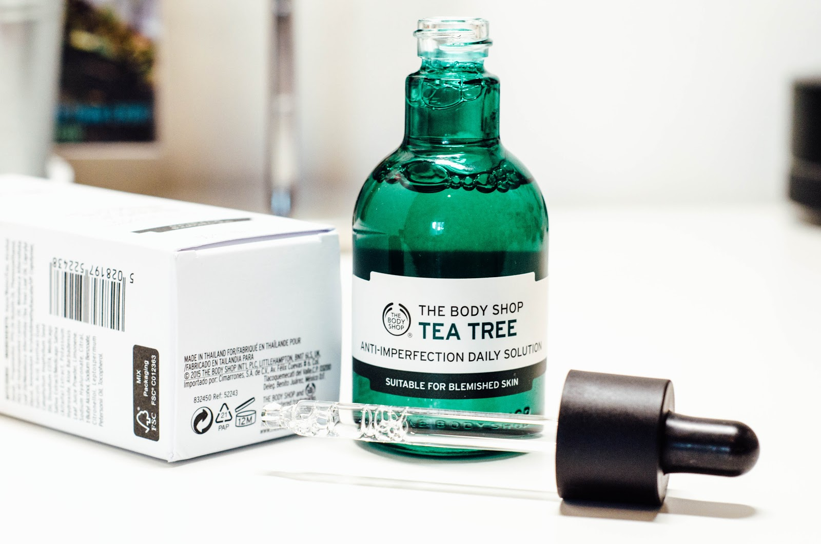 body shop tea tree daily solution review