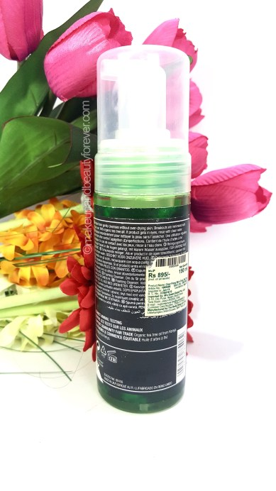 body shop tea tree cleanser review