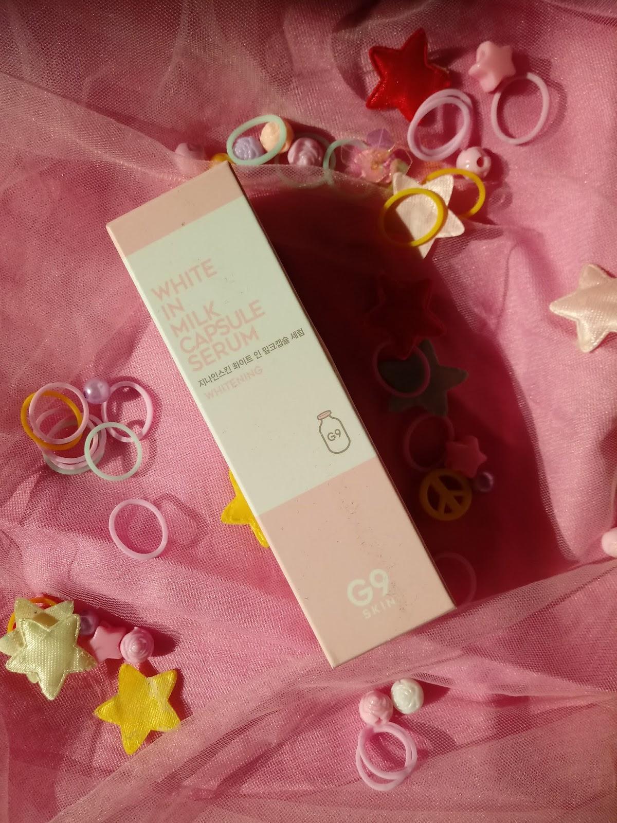 g9skin white in milk capsule serum review