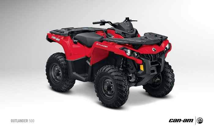 2014 can am outlander 500 review