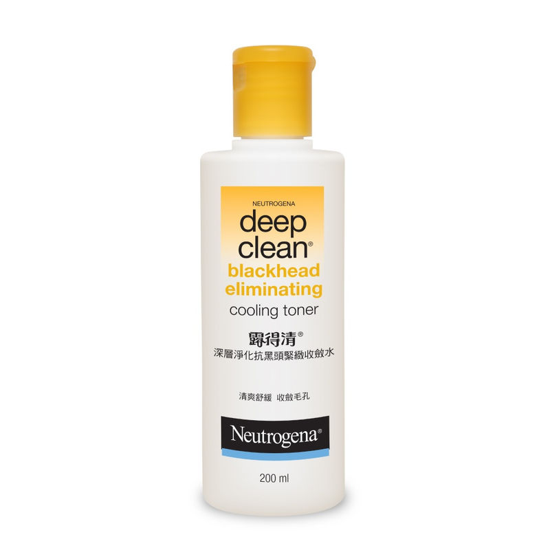 neutrogena deep clean blackhead eliminating cooling toner review