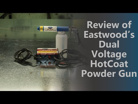 eastwood powder coating system review