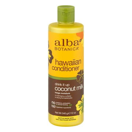alba botanica coconut milk conditioner reviews