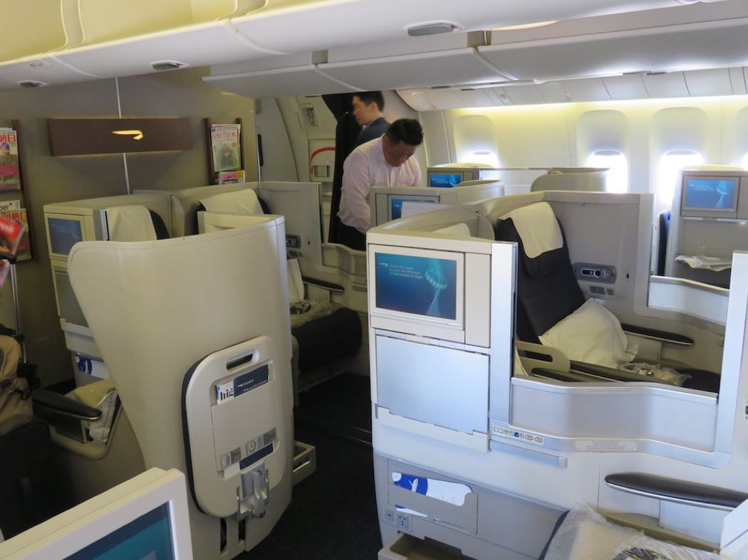 british airways 777 200 club world review