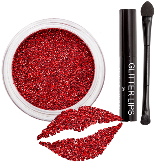 beauty boulevard glitter lips review