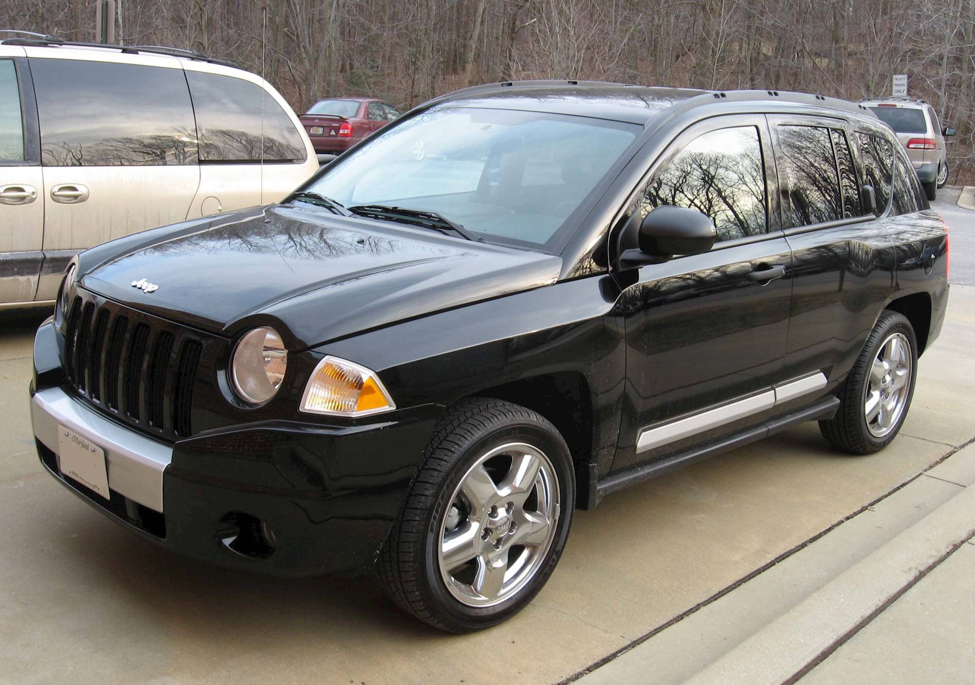2007 jeep compass limited 4x4 review