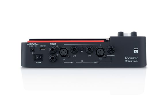 focusrite itrack studio recording package review