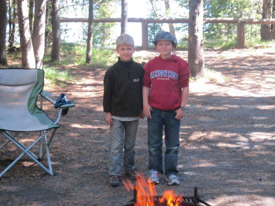 grant village campground yellowstone reviews