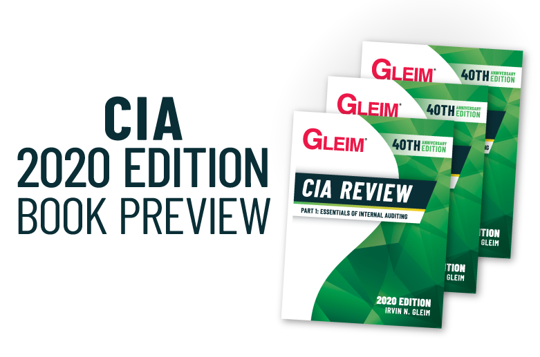gleim cia review 18th edition
