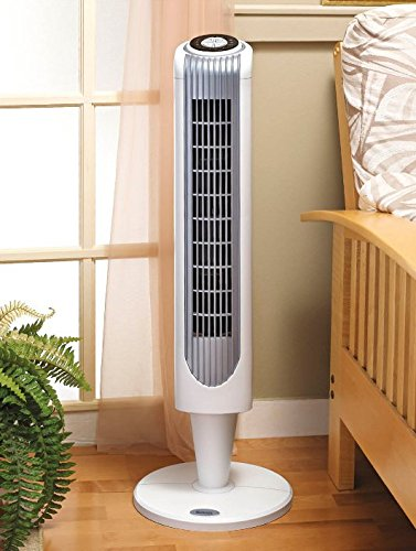 noma oscillating tower fan review