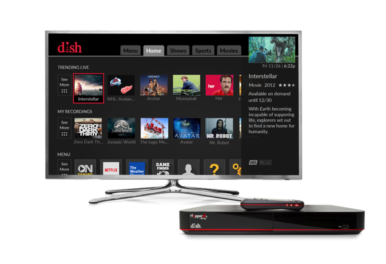 dish network internet gaming review
