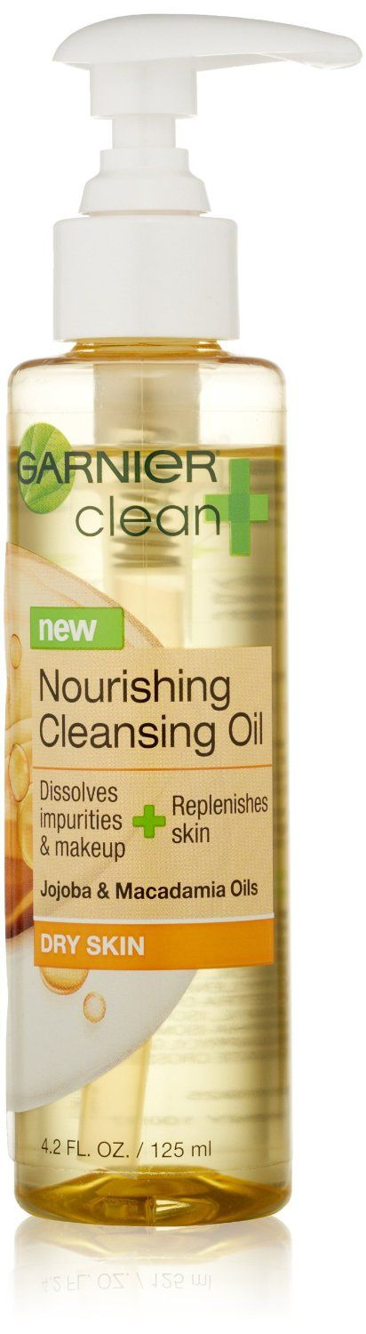 garnier clean nourishing cleansing oil review