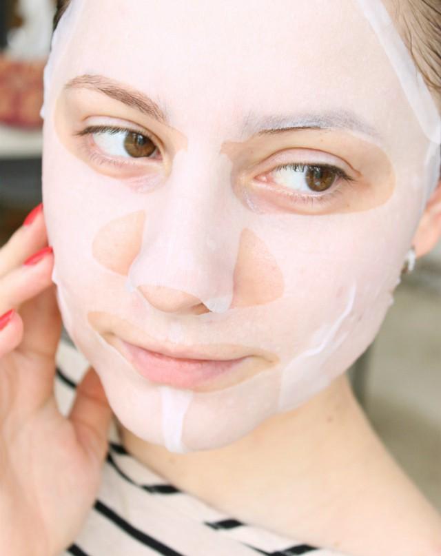 daiso face mask sheet review
