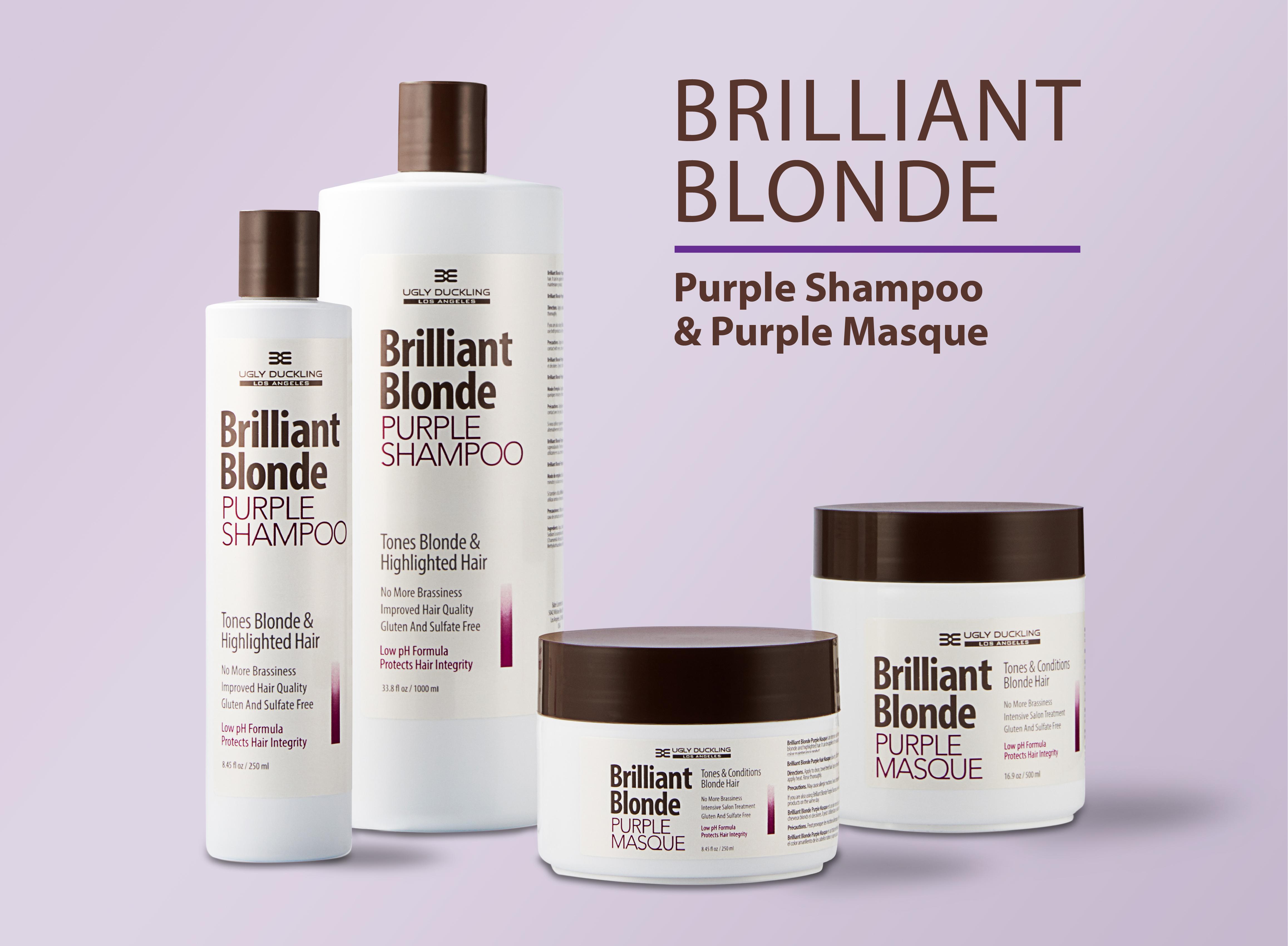brilliant blonde purple shampoo reviews