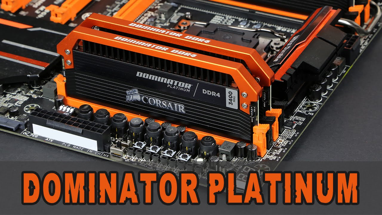 corsair dominator platinum 3000 review
