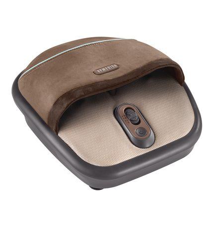 homedics shiatsu foot massager with heat reviews